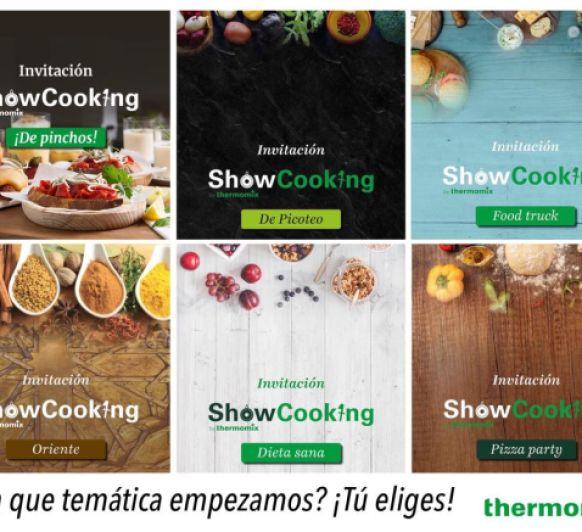 SHOW COOKING (TALLER TEMÁTICO)