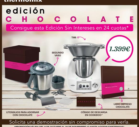 EDICIÓN CHOCOLATE - Thermomix® 0% INTERES