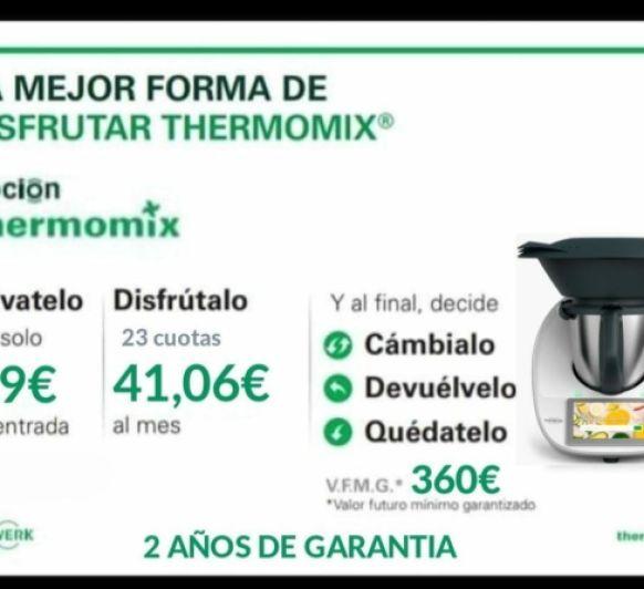 Thermomix® TM6 financiación