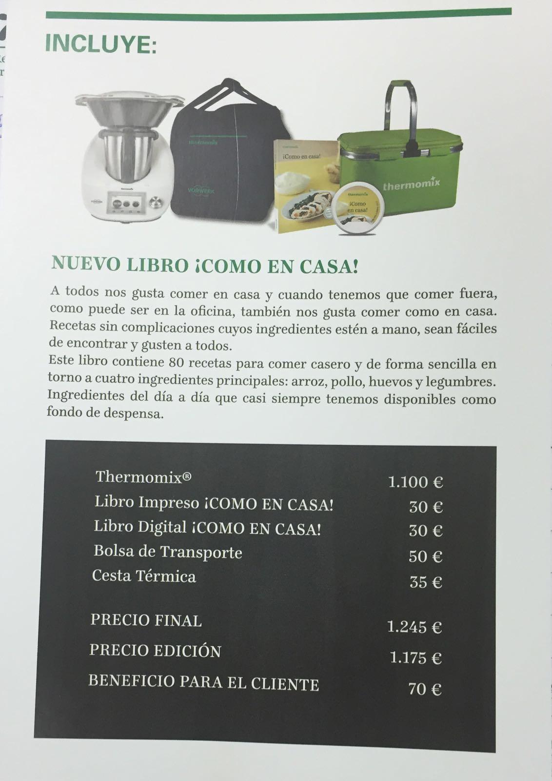 Nuevo Libro ¡CÓMO EN CASA!