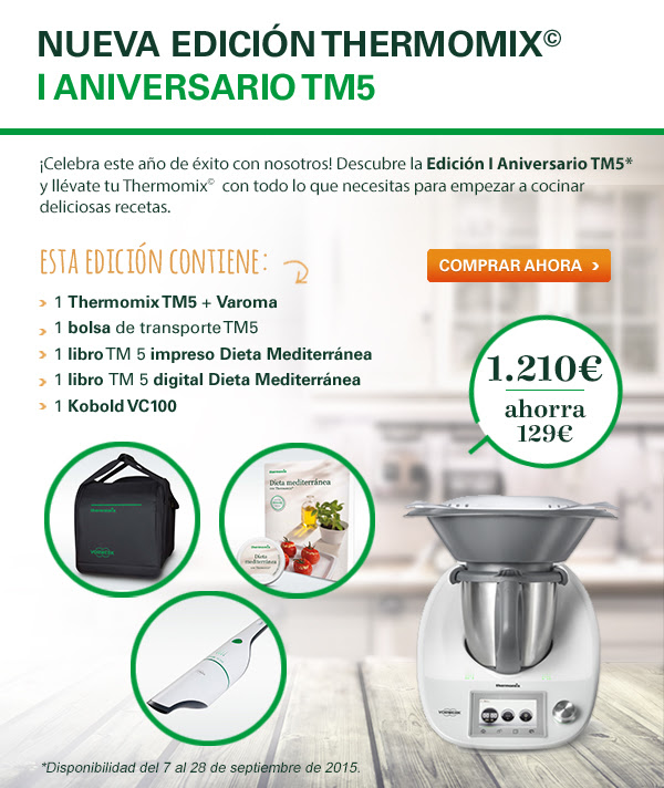 Promoción Aniversario Thermomix® Tm5