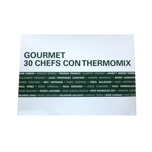 Thermomix® y libro 30 chefs