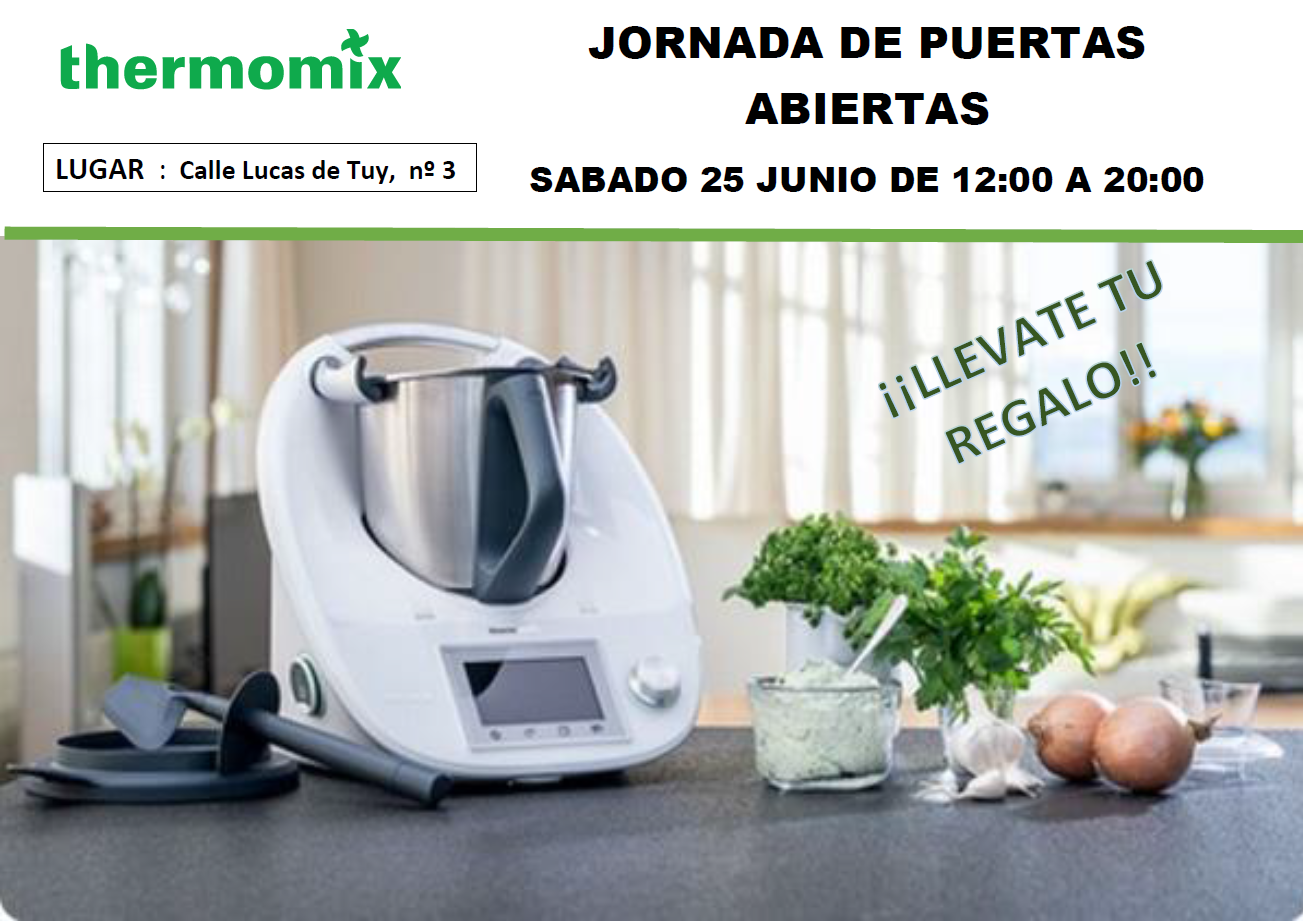 JORNADA DE PUERTAS ABIERTAS EN Thermomix® LEON