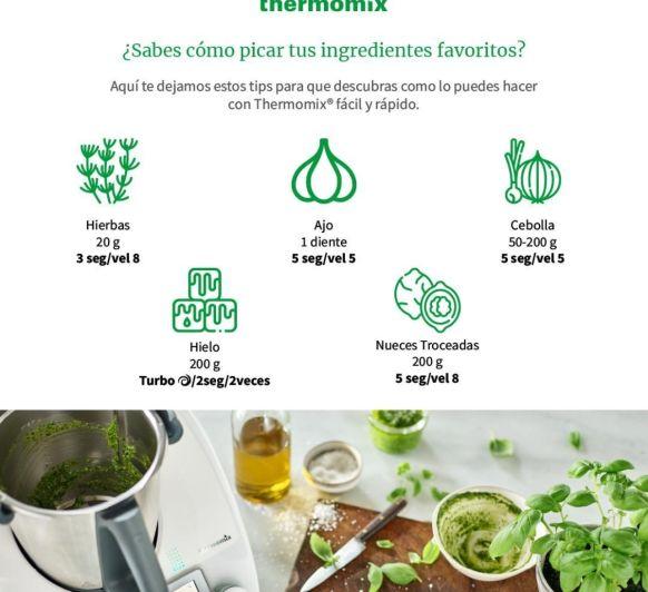 Picar ingrediente comunes con Thermomix®