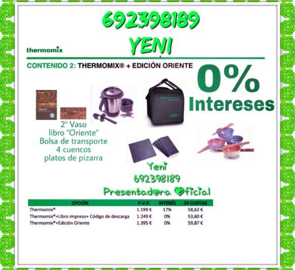 Thermomix® Edicion Oriente y en 24 cuotas sin Interes