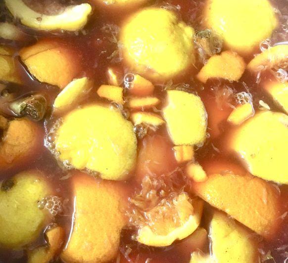 Limonada de papones (bebida típica en la Semana Santa de León)