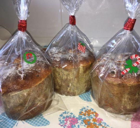 Panettone de Chocolate y esencia de Naranja