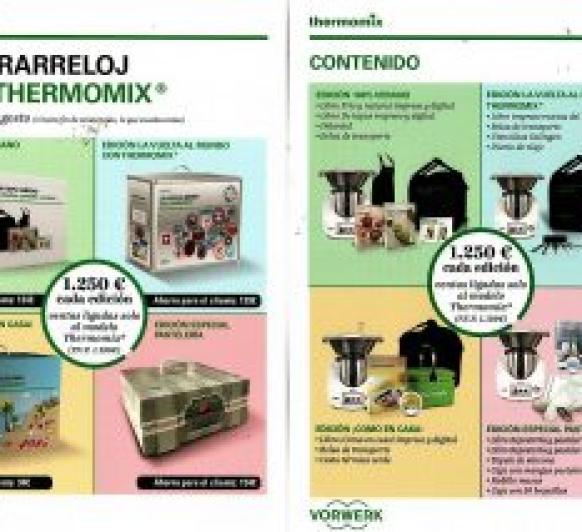 Thermomix® : OFERTA HASTA EL 21 DE AGOSTO O FIN DE EXISTENCIAS