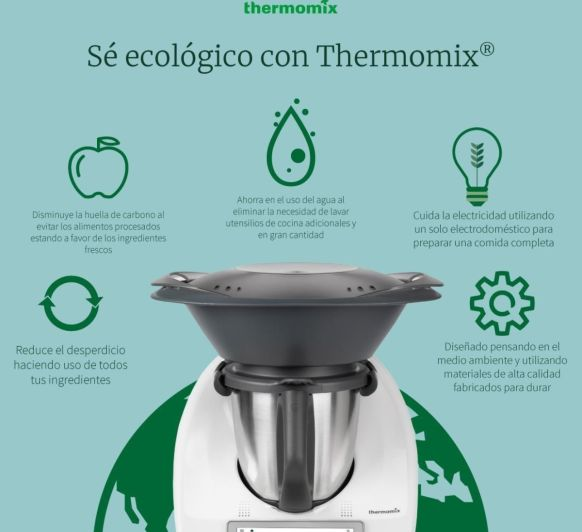 Sé Ecológico con Thermomix® .