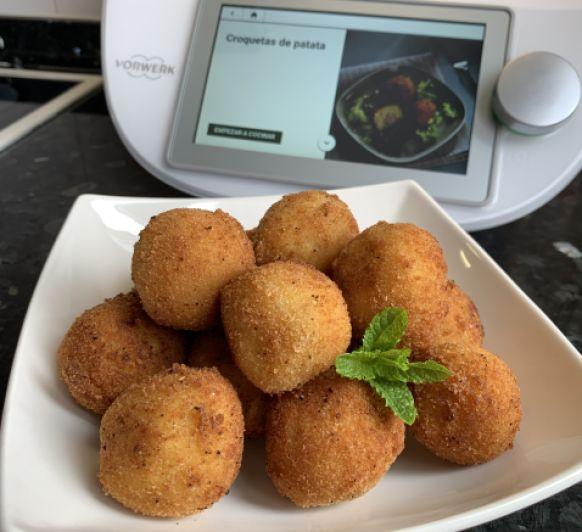 Croquetas de patata con sorpresa