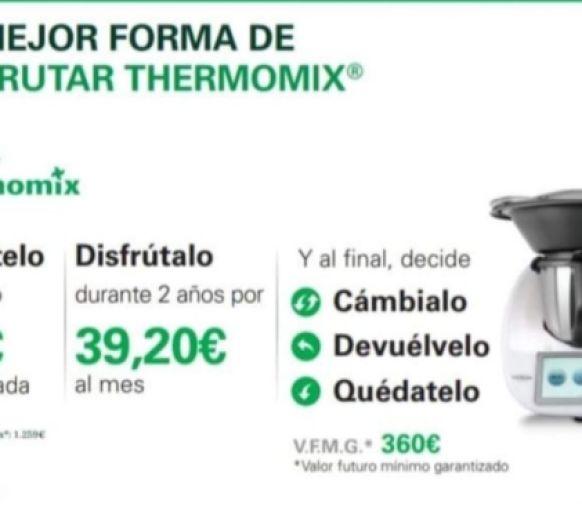 ¡¡ DISFRUTA 30 DÍAS DE TU Thermomix® TOTALMENTE GRATIS* !!