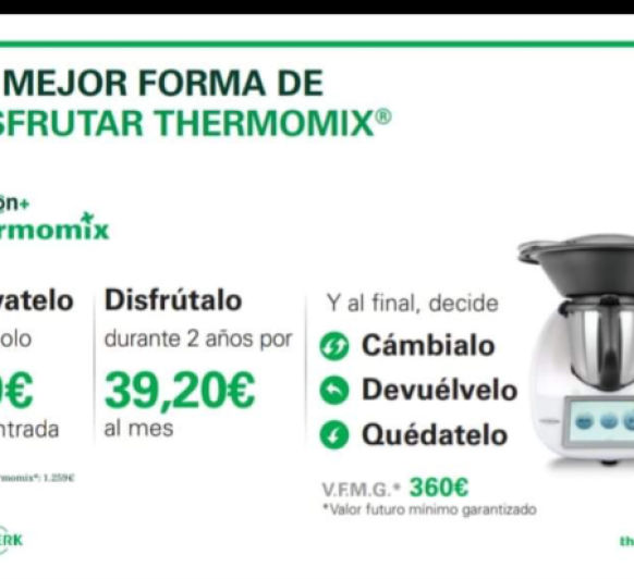 Comprar Themomix TM6 en León y provincia