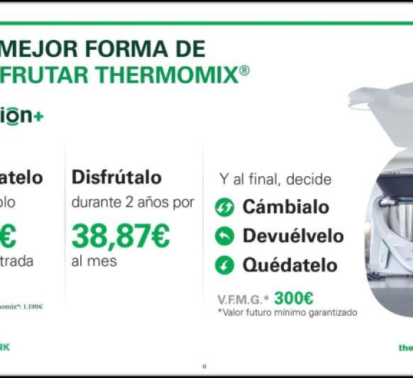 Llevate tu Thermomix® por solo 99 euros de entrada