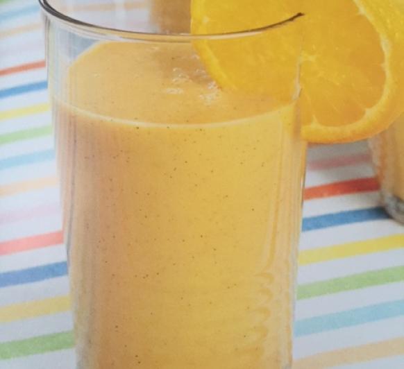 Batido de naranja,zanahoria y kiwi